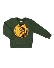 Diesel Boys Green Boys Sorqua Sweatshirt
