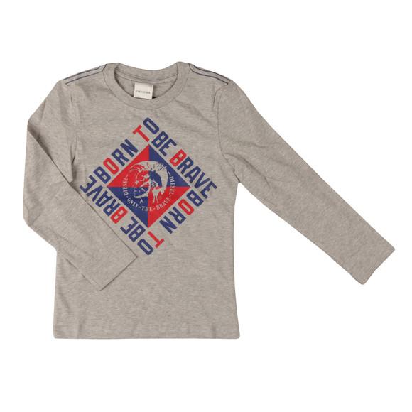 Diesel Boys Grey Boys Terci T Shirt main image