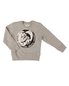 Diesel Boys Grey Boys Sorqua Sweatshirt