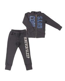Diesel Boys Blue Large Logo Track Suit