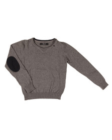 Replay Boys Grey Boys SB5207 Knitted Jumper