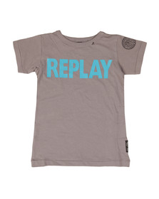 Replay Boys Grey SB7301.077 T-Shirt