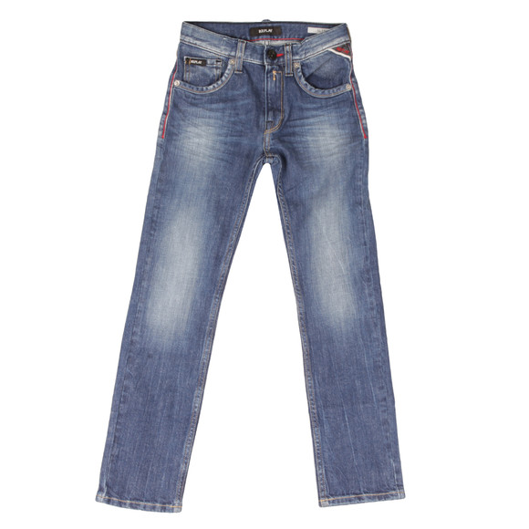 Replay Boys Blue SB9011 Slim Jean main image