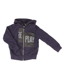 Replay Boys Blue SB2400 Full Zip Hoodie