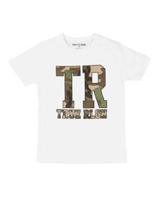 True Religion Boys White Camo Knockout T Shirt