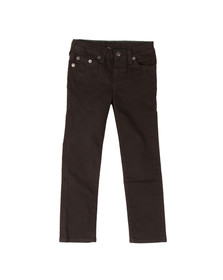 True Religion Boys Black Geno Single End Jean