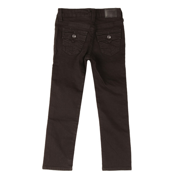 True Religion Boys Black Geno Single End Jean main image