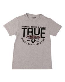True Religion Boys Grey Premium Goods T Shirt
