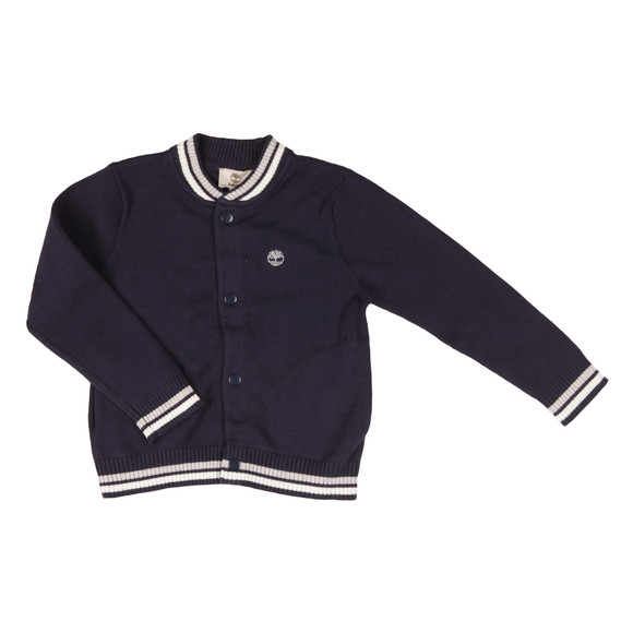 Timberland Boys Blue Boys T25L17 Knitted Cardigan main image