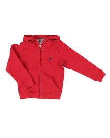 Timberland Boys Red T25L20 Zip Hoody