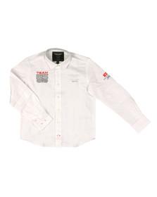 Hackett Boys White Boys AMR GB Oxford Shirt