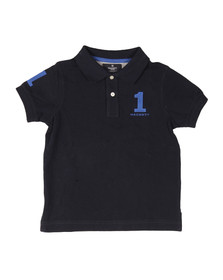 Hackett Boys Blue Boys New Classic Number Polo Shirt