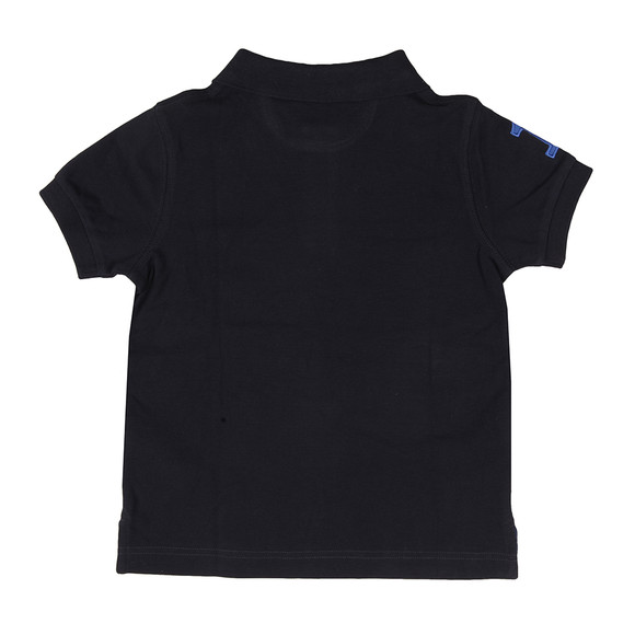 Hackett Boys Blue Boys New Classic Number Polo Shirt main image