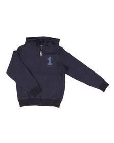 Hackett Boys Blue Boys Number 1 Full Zip Hoody