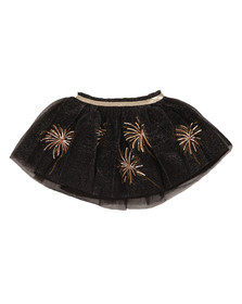 Billieblush Girls Black Metallic Skirt