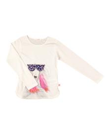 Billieblush Girls White U15343 T Shirt