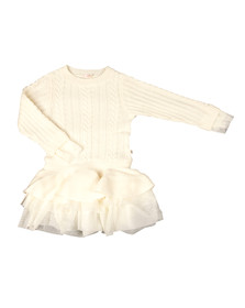 Billieblush Girls White U12237 Dress