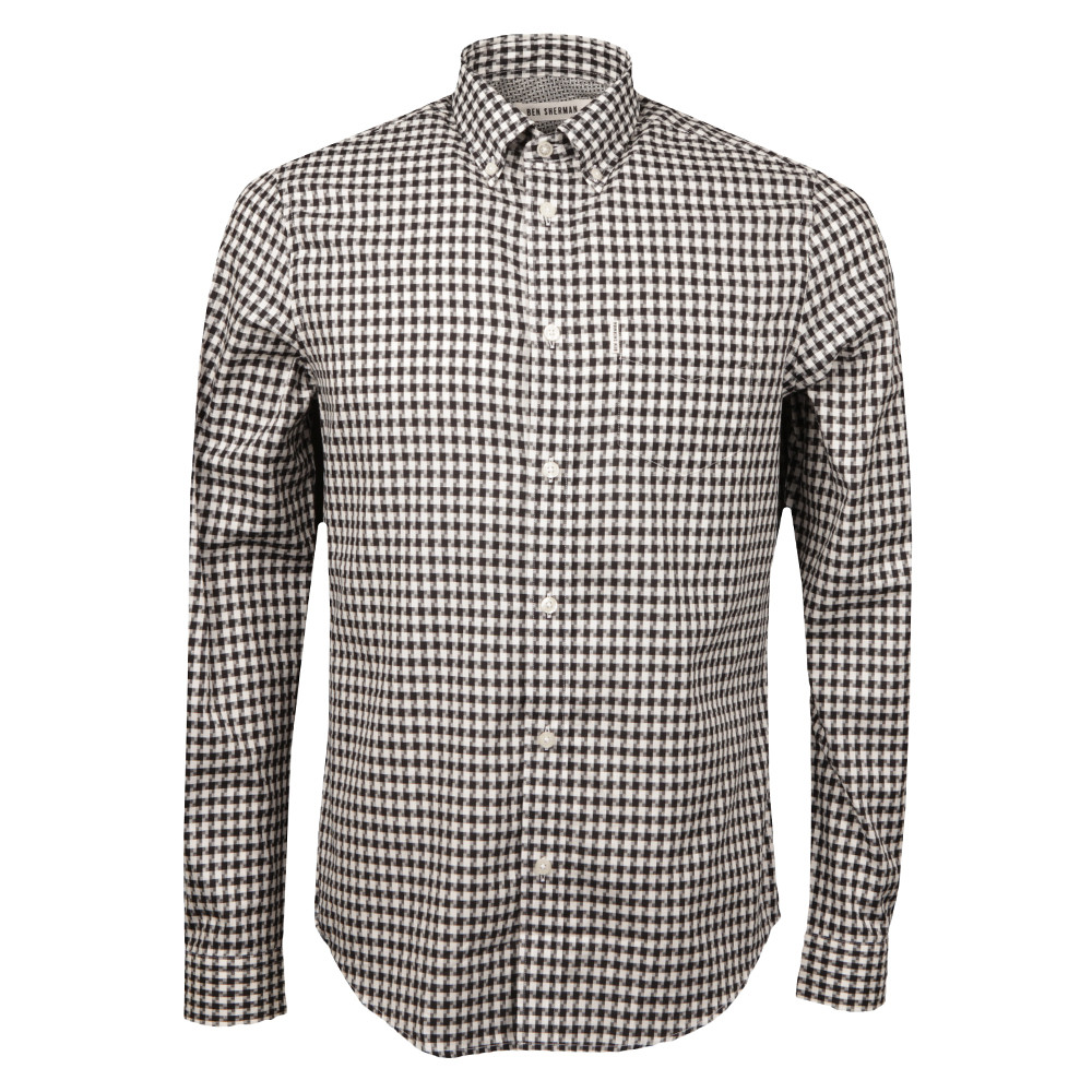 Dogstooth Gingham Shirt main image