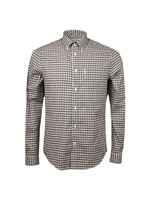 Dogstooth Gingham Shirt