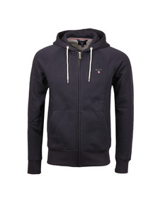 Gant Mens Blue Full Zip Sweat Hoodie