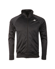 Kappa Mens Black Elgin Track Top