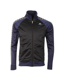 Kappa Mens Black Britannia Track Top