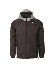 Kappa Mens Black Stirling Jacket