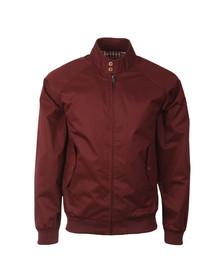 Ben Sherman Mens Red New Harrington Jacket