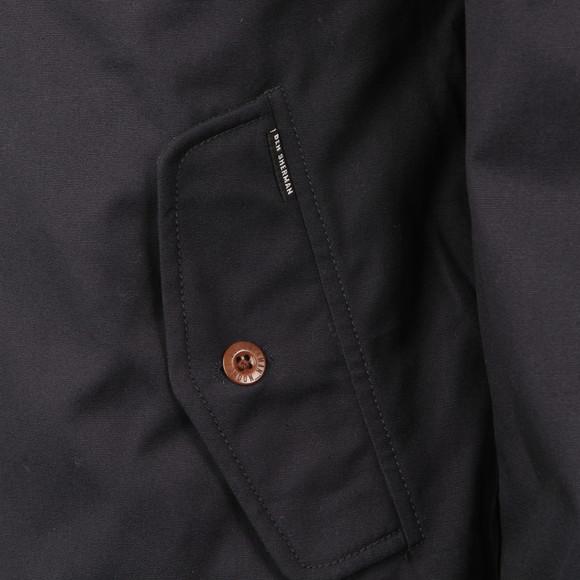 Ben Sherman Mens Blue Padded Harrington Jacket  main image