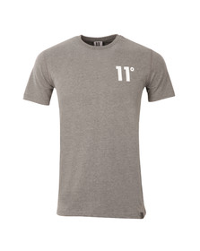 Eleven Degrees Mens Grey Core T Shirt