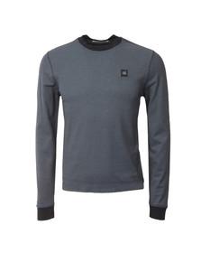 CP Company Mens Blue Slim Long Sleeve T Shirt