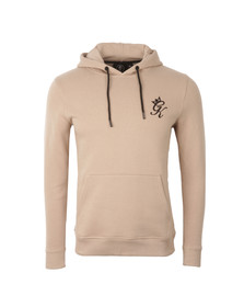 Gym king Mens Beige Overhead Hoody