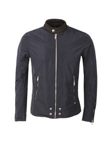 Diesel Mens Blue J-EDG Clean Jacket