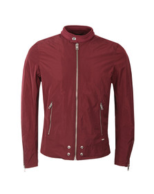 Diesel Mens Red J-EDG Clean Jacket