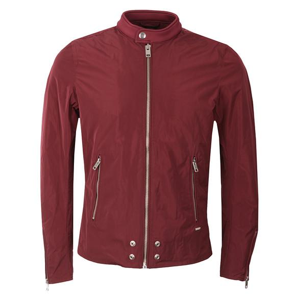Diesel Mens Red J-EDG Clean Jacket main image