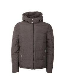 Original Penguin Mens Grey Insulated Melange Puffer Jacket