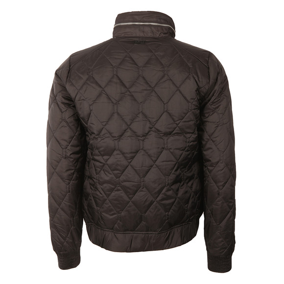 G-Star Mens Black Meefic Utility Quilted Overshirt main image