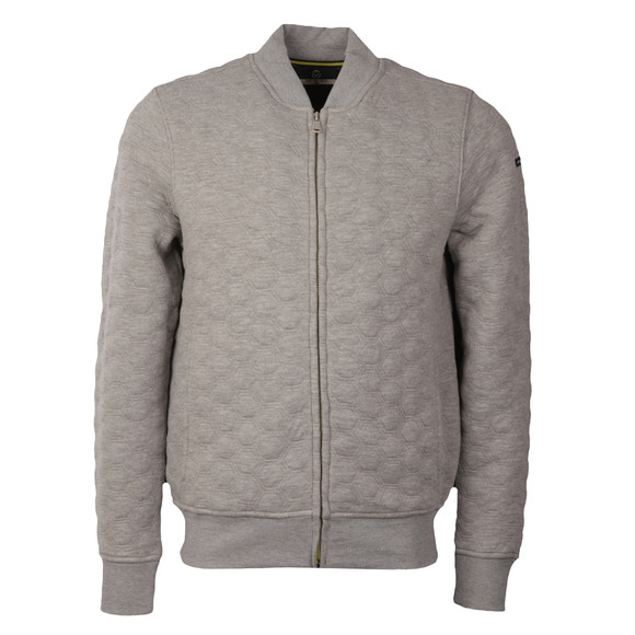 Duck & Cover Mens Grey Gryon Full Zip Sweat main image