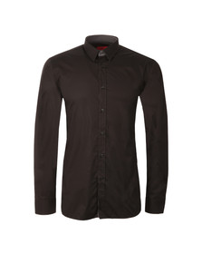 Hugo Mens Black Elishan Slim Shirt