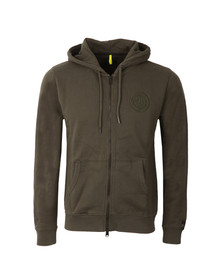 Replay Mens Green M313A Full Zip Sweat