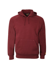 Carhartt Mens Red Chase Overhead Hoody
