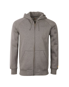 Carhartt Mens Grey Chase Hooded Sweat