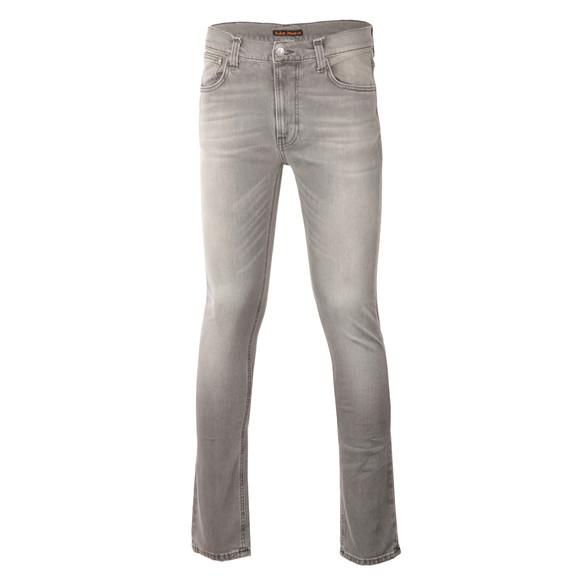 Nudie Jeans Mens Grey Lean Dean Jean main image