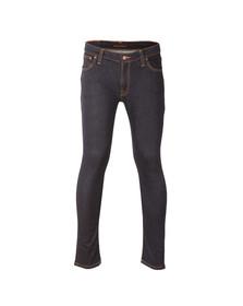 Nudie Jeans Mens Blue Skinny Lin Jean