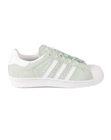 Adidas Originals Womens Green Superstar W Trainer