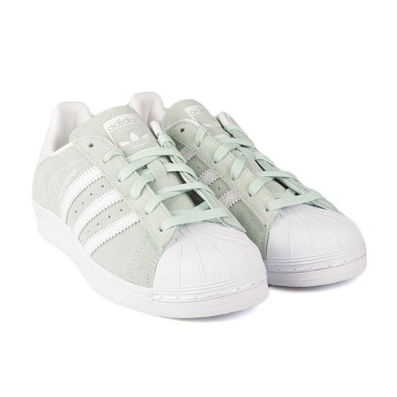 Adidas Originals Womens Green Superstar W Trainer main image
