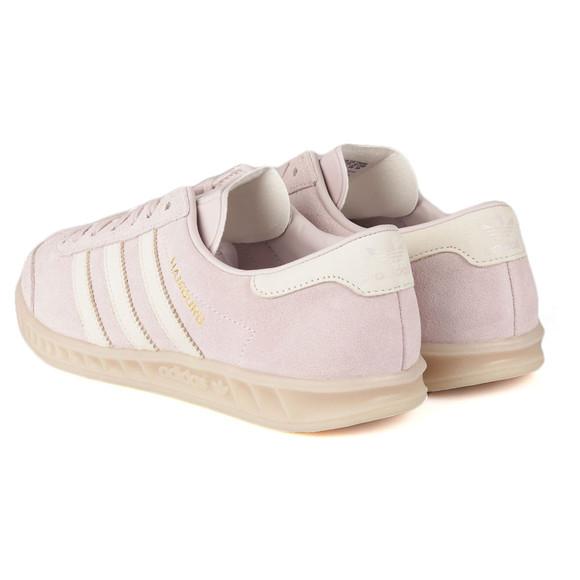 Adidas Originals Womens Purple Hamburg Trainer main image