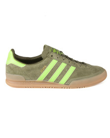 Adidas Originals Mens Green Jeans Trainer