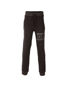 Money Mens Black Punch Out Track Pant
