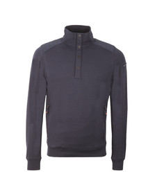 Duck & Cover Mens Blue Utopia 1/2 Zip Sweat